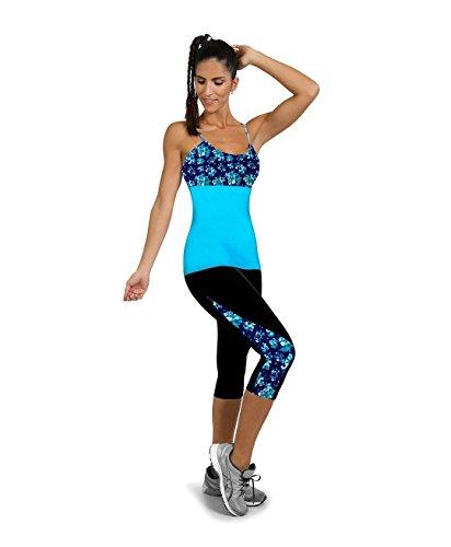 Pantaloni 4 Yoga Donna Leggins Colore da Alta Push Vita 11 Fliegend Elastici Collant 3 Pantaloni Sportivi Stampa Leggings Up Fpvqfw
