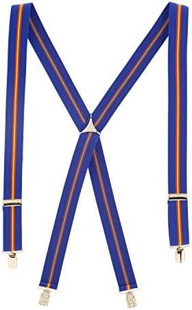 Cencibel Smart Casual Tirantes Bandera España (Azul Marino ...