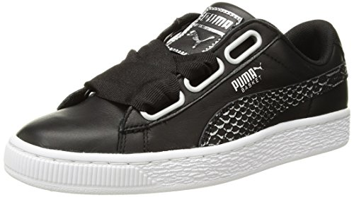 clearance professional PUMA Women's Basket Heart Oceanaire Wn Sneaker Puma Black-puma White 100% authentic cheap sale outlet locations hot sale cheap online clearance finishline 5sBIz