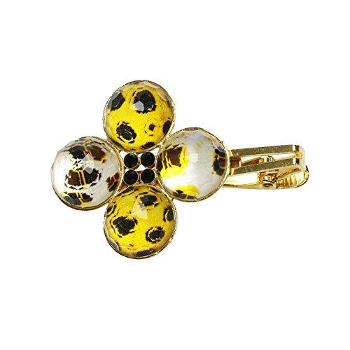 Tamarusan Shawl Clip Stole Clip Cheetah Tiger Cat Gold Brooch by TAMARUSAN