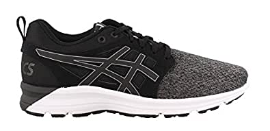 ASICS Women's Torrance Running Shoe, Black/Stone Grey, 10 B(M) US