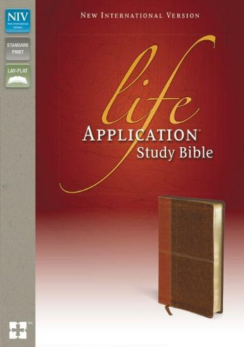 NIV, Life Application Study Bible, Imitation Leather, Tan/Brown