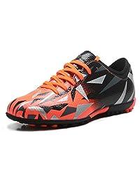 T&B Kid's Football Cleats Soccer Shoes Turf Cleat (Little Kid/Big Kid)
