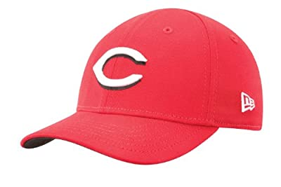 MLB Cincinnati Reds Kid's Tie Breaker 39Thirty Cap, Scarlet, Toddler/Child