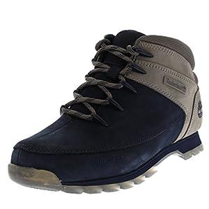 Timberland Men EURO Sprint Hiker Walking Hiking Ankle Winter Boots - Black Iris - 10.5