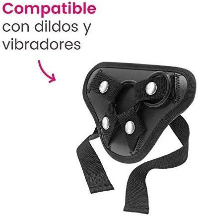 Arnés sexual ajustable Samba compatible con dildos y vibradores ...