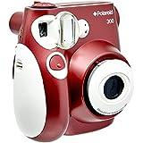 Câmera instantânea com Filme 10 Poses, Polaroid PIC300_KIT3, Vermelho