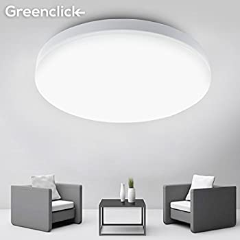 8w 5000k daylight led flush mount ceiling light greenclick modern flushmount 80w equivalent 95