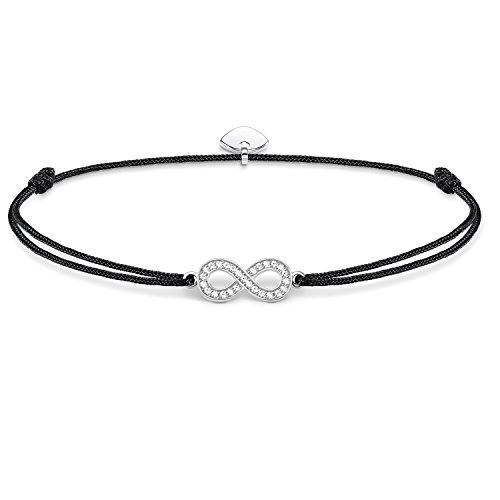 THOMAS SABO Damen-Armband Little Secret Unendlichkeit 925 Sterling Silber LS003-401-11-L20v