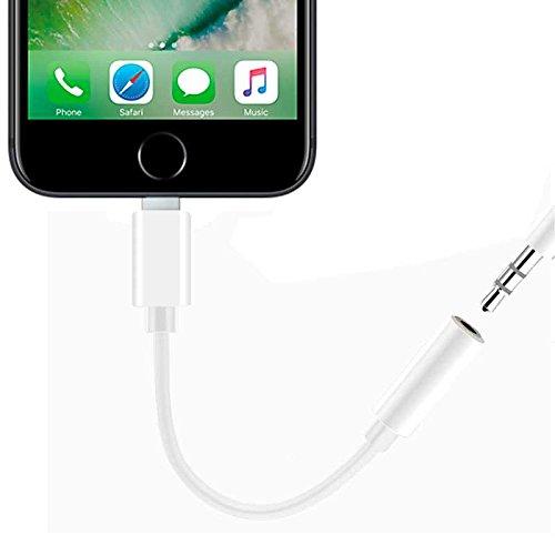 Adattatore per cuffie, cavo jack audio da 3,5 mm per iPhone 7 Plus. 5mm per iPhone 7Plus. Gamefox 5613