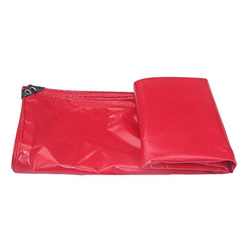 Persenning HUO Rote Plane Für Einzelteil-Abdeckung, Dauerhafter Schuppen-Stoff, Wasserdichtes Anti-UV Segeltuch, 450g   M2 (Farbe   Rot, größe   2  3m)