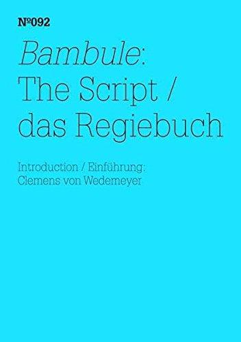 Ulrike Meinhof & Eberhard Itzenplitz: Bambule, The Script: 100 Notes, 100 Thoughts: Documenta Series 092 (100 Notes - 100 Thoughts / 100 Notizen -100 Gedanken: Documenta (13))