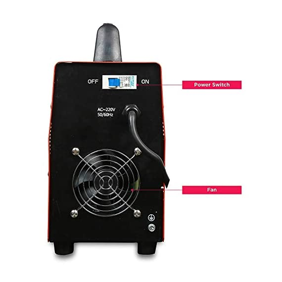 iBELL Heavy Duty Inverter ARC Welding Machine (IGBT) 250A with Hot Start, Anti-Stick Functions, Arc Force Control - 2 Year Warranty 4