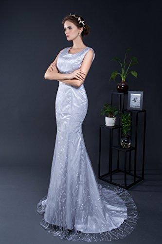 Vimans -  Vestito  - fasciante - Donna Light Grey 46