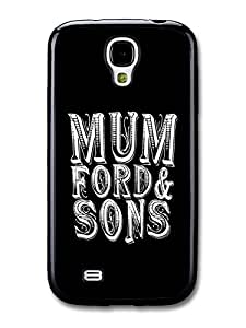 Mumford & Sons Black and White Logo case for Samsung Galaxy S4 hjbrhga1544