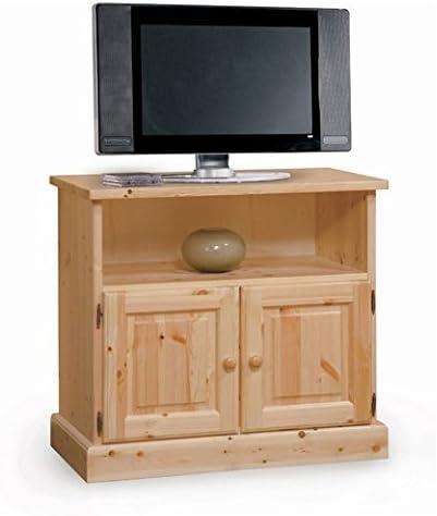 Arredamenti Rustici Mueble de televisión - Madera de Pino - Color Miel: Amazon.es: Hogar