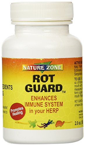 Nature Zone SNZ59331 Rot Guard Enhance Immune System for Reptiles, 2 Ounce by Nature Zone