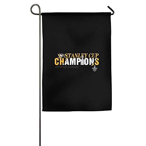 Autograph Authentic Style Jersey - Atoggg Pittsburgh Penguins Home Flags/House Flags/Garden Flags 12*18inch / 18*27inch