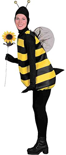 UHC Women's Bumble Bee Outfit Funny Theme Fancy Dress Halloween Costume, (Bumble Bee Costume Plus Size)