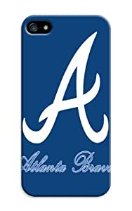 LarryToliver The Best And Newest Hard Case iphone 5/5s For Customizable Baseball Atlanta Braves