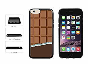 Yummy Unwrapped Chocolate Bar TPU RUBBER Phone Case Back Cover Apple iphone 5 5s inches screen) includes diy case Cloth and Warranty Label
