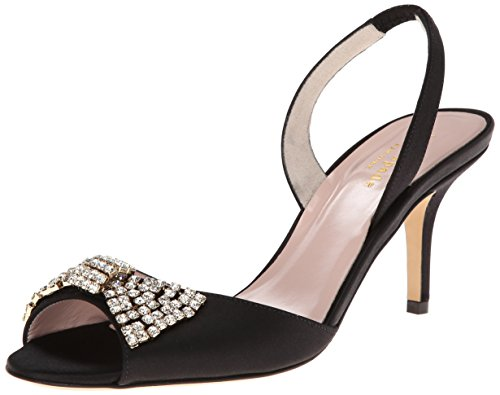 Kate Spade Wedding Shoes (kate spade new york Women's Miva Dress Sandal,Black,7 M US)