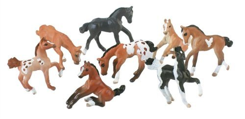 Mini Whinnies Set of 8 Foals with Carry Case