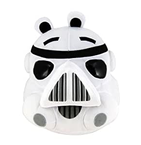 Angry Birds Star Wars Plush Bird Stormtrooper, 8 Inch
