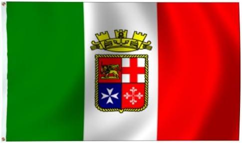 Italian Ensign 3/' x 5/' Nylon Flag