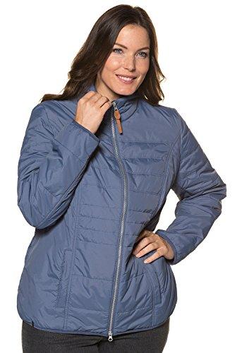 Ulla Women's Stehkragen Blue Steppjacke Jacket Mit Popken Smoke ZpwUqrZ