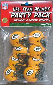 Riddell 9585533012 Green Bay Packers Team Helmet Party Pack ()