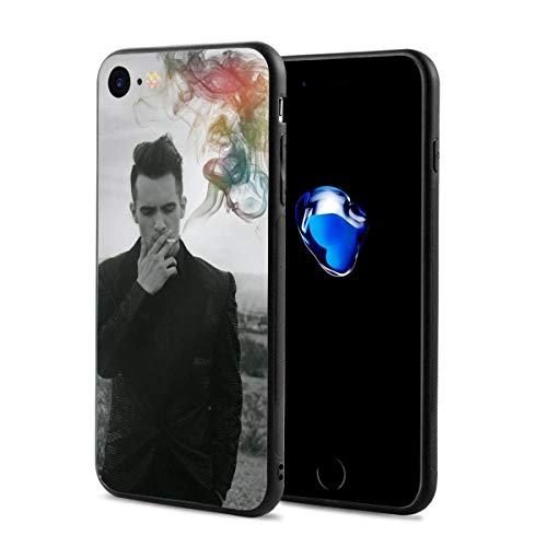 Panic at The Disco iPhone 7 Case, iPhone 8 Case Slim Protection Scratch Resistant Hard Back Cover Shock Absorbent TPU Bumper Case for Apple iPhone (Panic At The Disco Iphone 7 Case)
