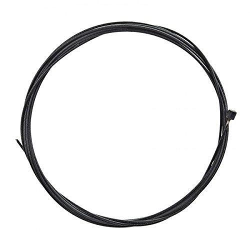 Positz Stainless Steel Polymer Coated Inner Gear Cable Black 2100mm x 1.2mm (1pc)
