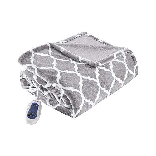 Beautyrest Plush Electric Throw Blanket