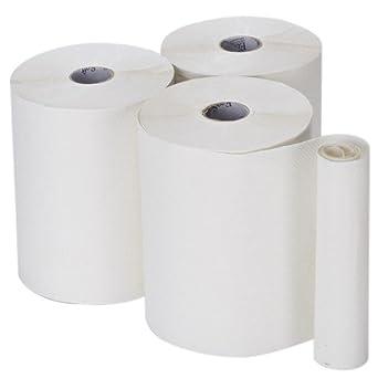 Bay West agb010-w suave Eco toalla de mano, acabado satinado, color blanco
