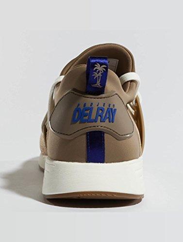PROJECT Herren DELRAY 46 Sneaker beige anZqawr10