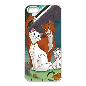 iPhone 5 5s Cell Phone Case Covers White AristoCats g1873444