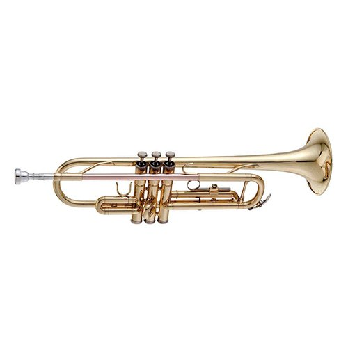 Michael Jackson Bb Student Trumpet Pack - Includes Trumpet w/Case & Accessories & King of Pop Play Along Book