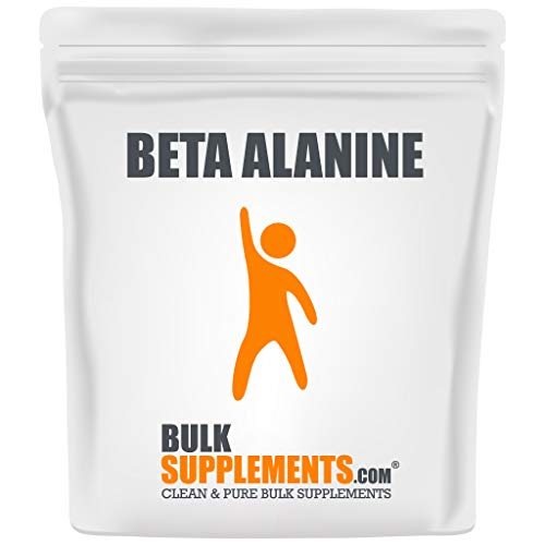 BulkSupplements.com Beta Alanine (500 Grams - 1.1 lbs - 833 Servings)