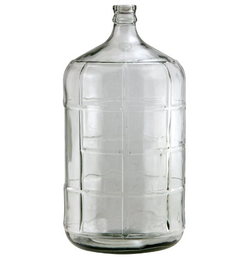 Beverage Factory KC FP-CB-06 Carboy, 6 gallon, Clear