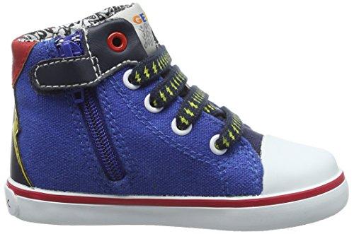 Geox B Kilwi Boy, Zapatillas Altas para Bebés Azul (Royal/Navy C4227)