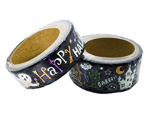 Halloween Decorations Decorative Tape Washi Masking Tape Scrapbooking DIY Crafts Gift Wrapping 0.79 x 118