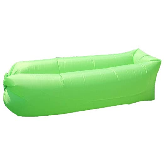 YUEZHANG Sofa Hinchable Perezoso sofá al Aire Libre Parque ...