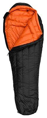 Hyke & Byke 800 Fill Power Goose Down Sleeping Bag - Eolus 15 & 0 Degree F Ultralight Mummy Bags for Backpacking