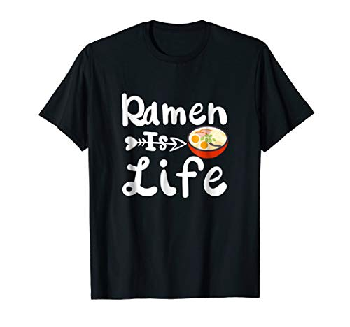 Ramen Noodle Bowl Soup Japanese Food Novelty T Shirt -