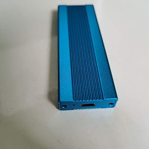 2TB External Hard Drive, Portable Hard Drive External Type-C/USB 2.0 HDD for Mac Laptop PC (2TB, Blue)