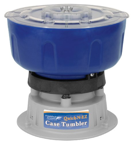 Frankford Arsenal Quick-N-EZ 110V Vibratory Case Tumbler for Cleaning and Polishing for Reloading