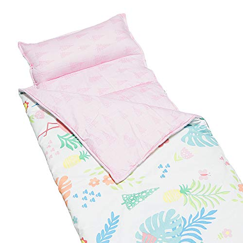 Hi Sprout Kids Toddle Lightweight and Soft Nap Mat (Flamingo)