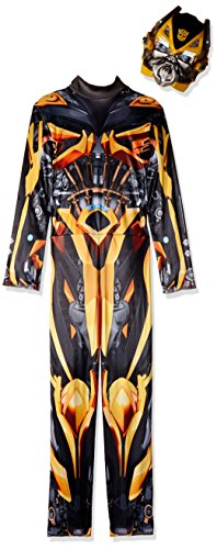 Childs Boys Hasbro Transformers 4 Age of Extinction Bumblebee Classic Costume