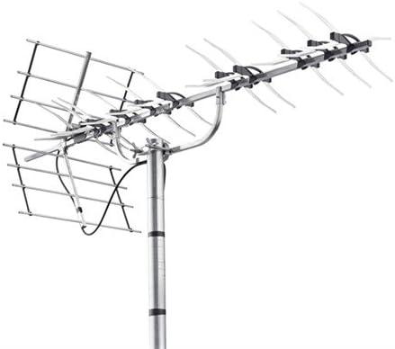 Triax Unix 52 - Antena (Aluminio, Negro, Magnesio, 14,5 dBi ...